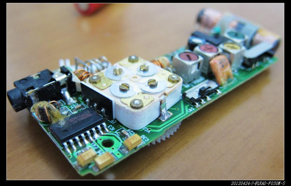 20120424穷人穷玩 之 AudioComm小机RAD F030M S 10 - 20120424穷人穷玩 之 AudioComm小机RAD-F030M-S