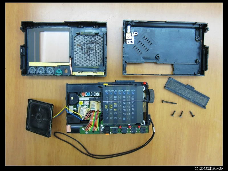 20120522穷人穷玩 之 Sony icf sw20 07 - 20120522穷人穷玩 之 Sony icf sw20