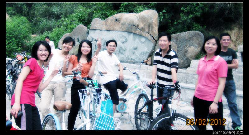 20120602首届金钟水库绿道骑行07 - 20120602首届金钟水库绿道骑行