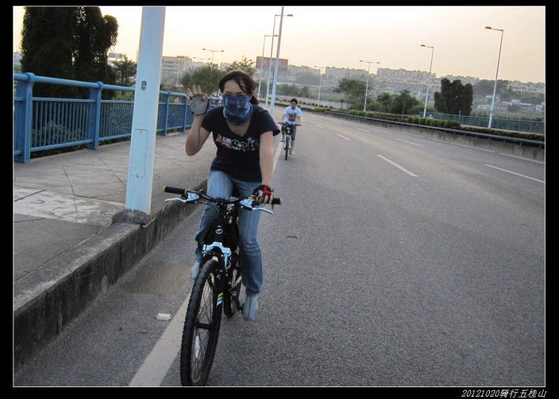 20121020第四届金钟骑行活动02 - 20121020第四届金钟骑行活动