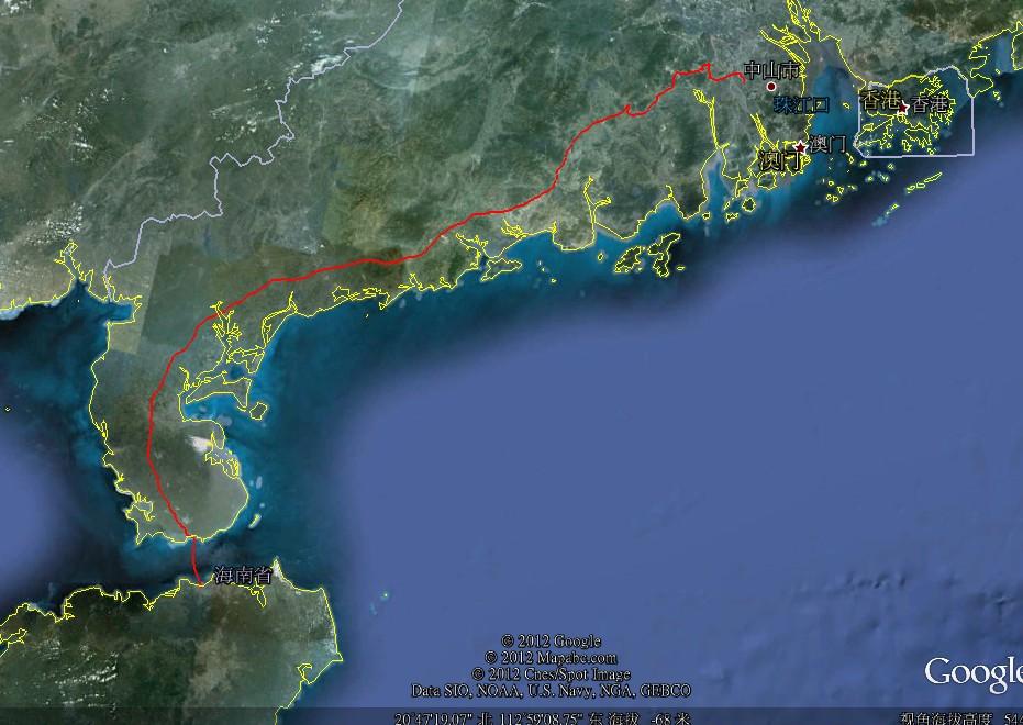 20121117环骑海南day0(中山 海口)30 - 20121117环骑海南day0(中山--海口)