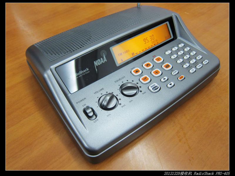 20121229宽频收音机RadioShack PRO 405 01 - 20121229宽频收音机RadioShack PRO-405