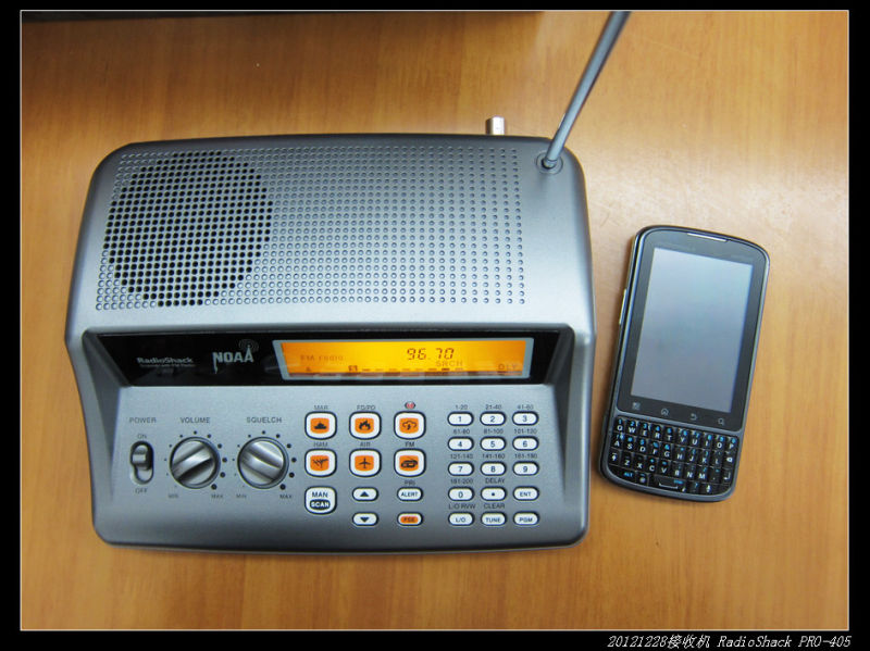 20121229宽频收音机RadioShack PRO 405 02 - 20121229宽频收音机RadioShack PRO-405