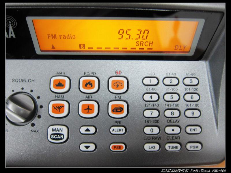 20121229宽频收音机RadioShack PRO 405 03 - 20121229宽频收音机RadioShack PRO-405