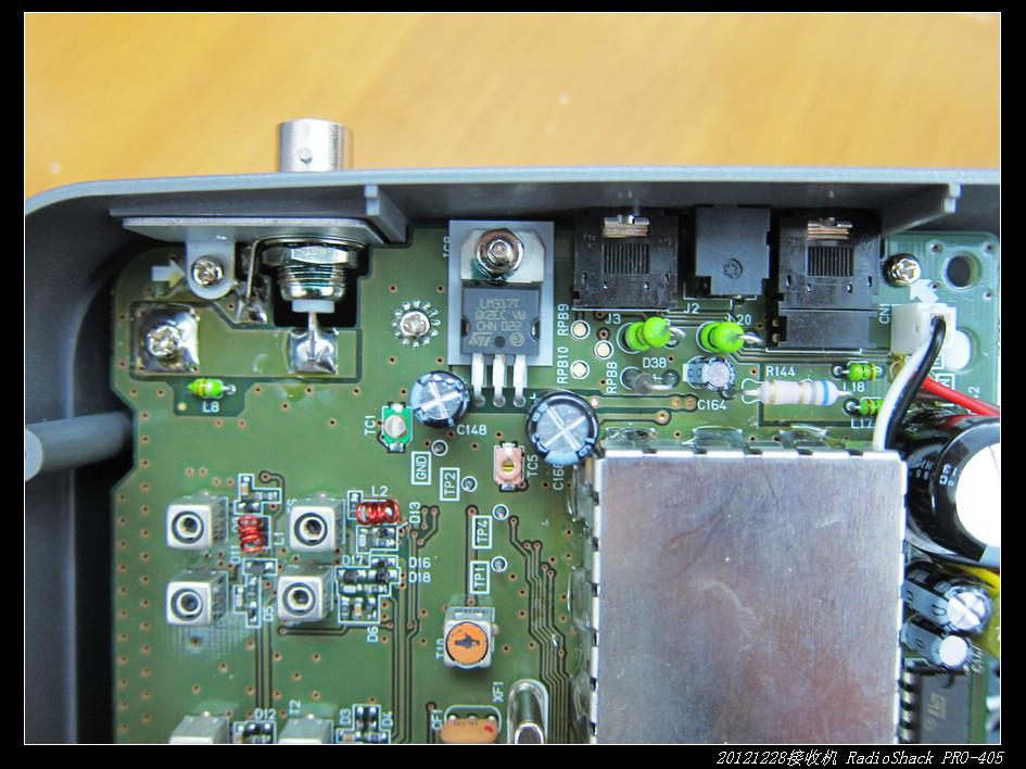 20121229宽频收音机RadioShack PRO 405 13 - 20121229宽频收音机RadioShack PRO-405