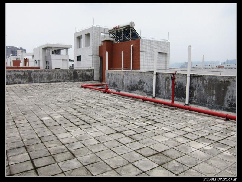 20130513穷人穷玩 之 屋顶GP天线02 - 20130513穷人穷玩 之 屋顶GP天线