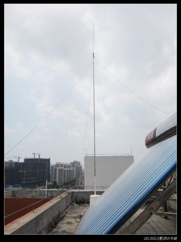 20130513穷人穷玩 之 屋顶GP天线06 600x800 - 20130513穷人穷玩 之 屋顶GP天线