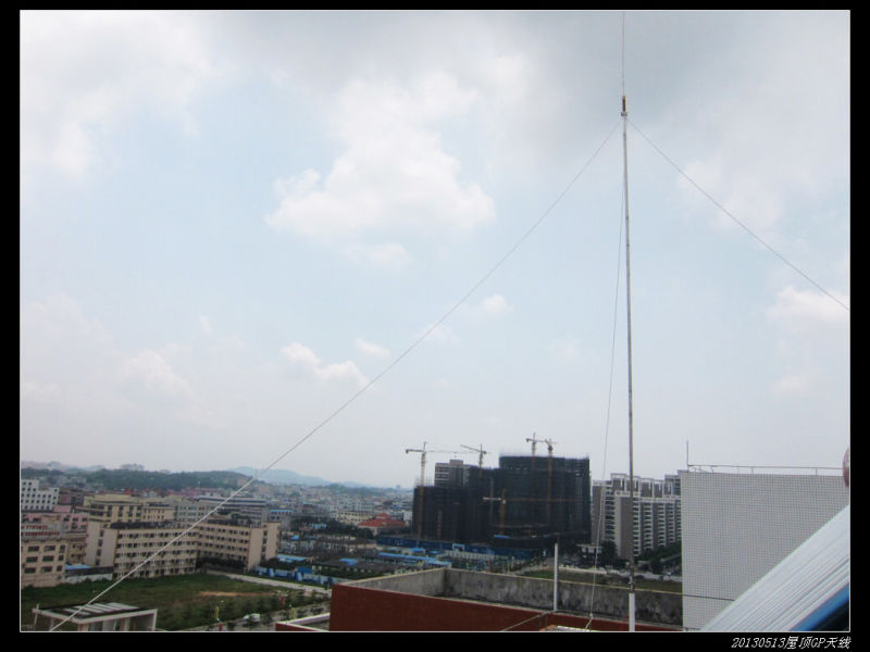 20130513穷人穷玩 之 屋顶GP天线07 - 20130513穷人穷玩 之 屋顶GP天线