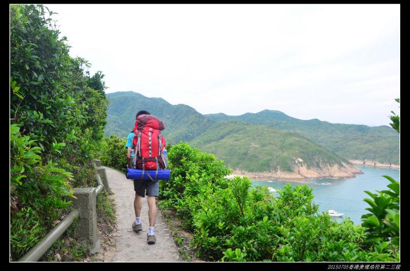 20150704重装香港麦理浩径07 - 20150704重装香港麦理浩径(1/3) 第二段:东坝--西湾
