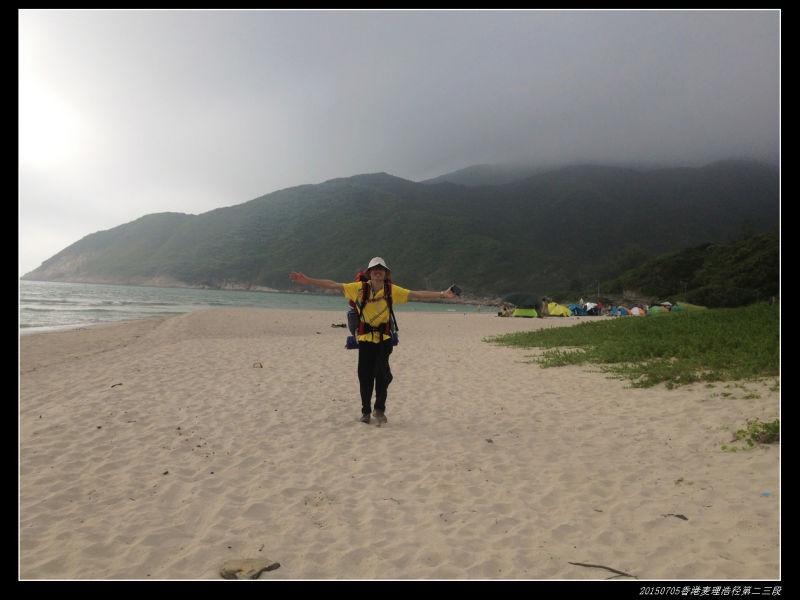 20150705重装香港麦理浩径09 - 20150705重装香港麦理浩径(2/3) 第二段:西湾--北潭凹