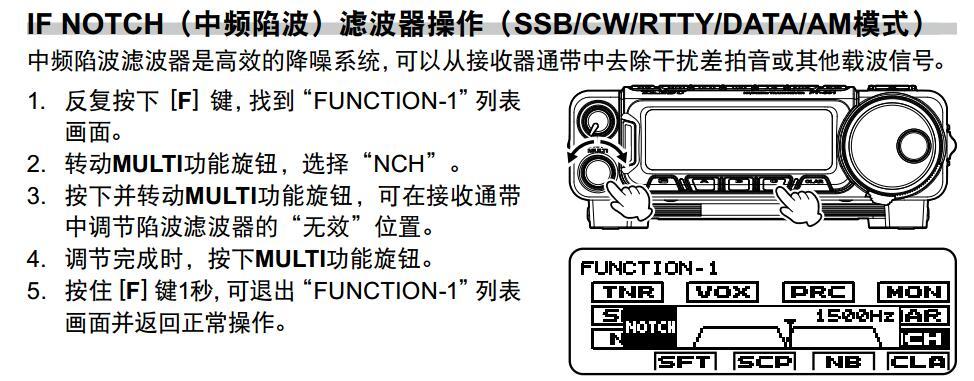 NCH中频陷波1 - Yaesu新机FT-891 酱油师尝鲜试用