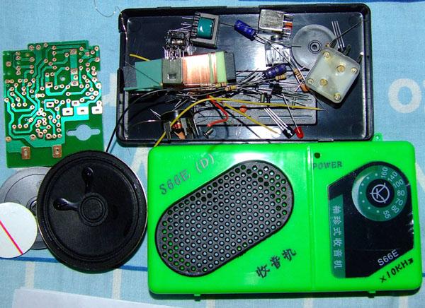 20081209穷人穷烧 之 组装小收音机1 - 20081209穷人穷烧 之 组装小收音机