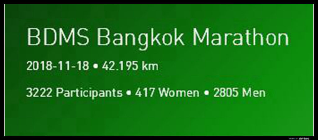 19曼谷马拉松 网上图片02官方数据 1024x453 - 20181118曼谷BDMS天空夜跑马拉松