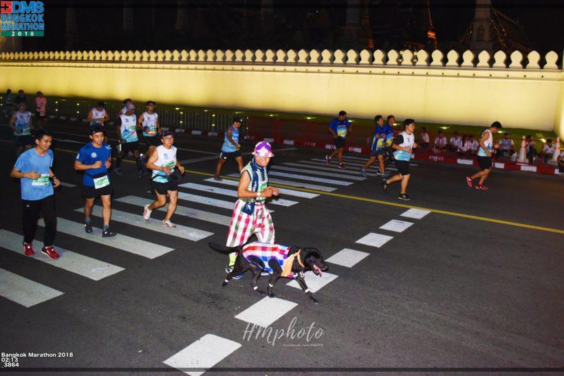 26跑步的狗狗 820x547 - 20181118曼谷BDMS天空夜跑马拉松