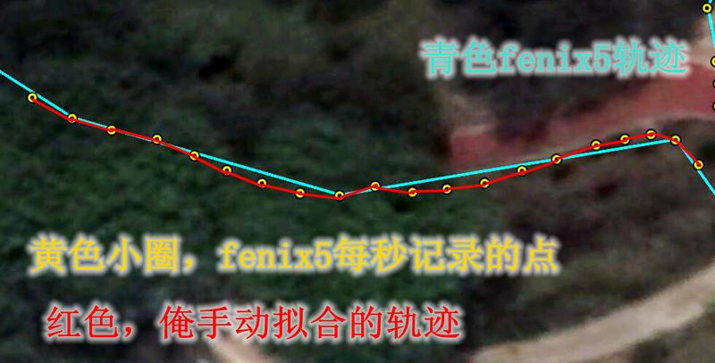 珠江公园路跑局部2分析单个点 - Suunto 9 Baro与 Fenix 5 对比测评