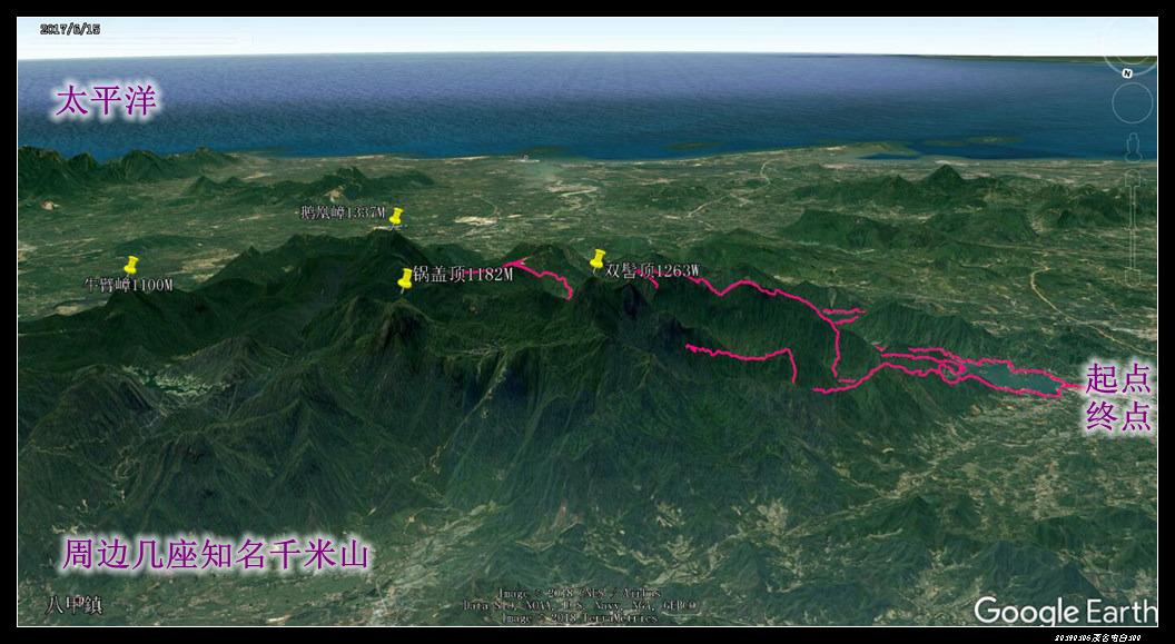 36 轨迹3 - 20190105茂名电白100km荔枝越野赛
