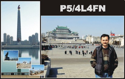 03第一名:朝鲜 额外图1卡片 - 最受需求的呼号实体