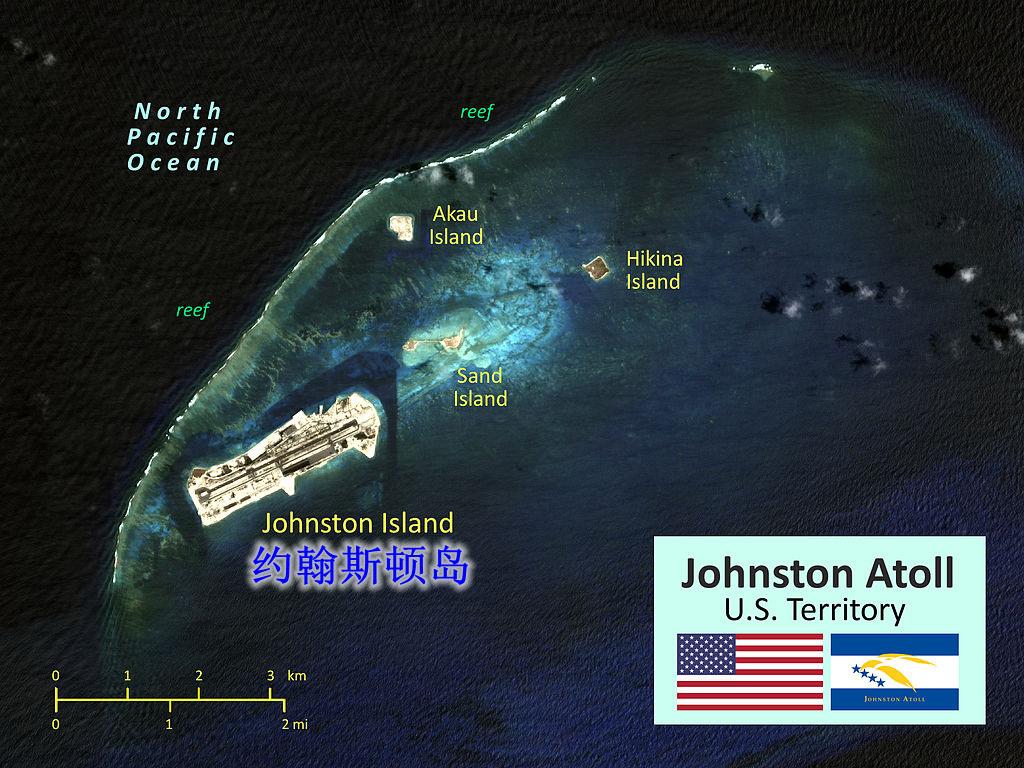 15第八名 约翰斯顿岛 鸟瞰图 - 最受需求的呼号实体