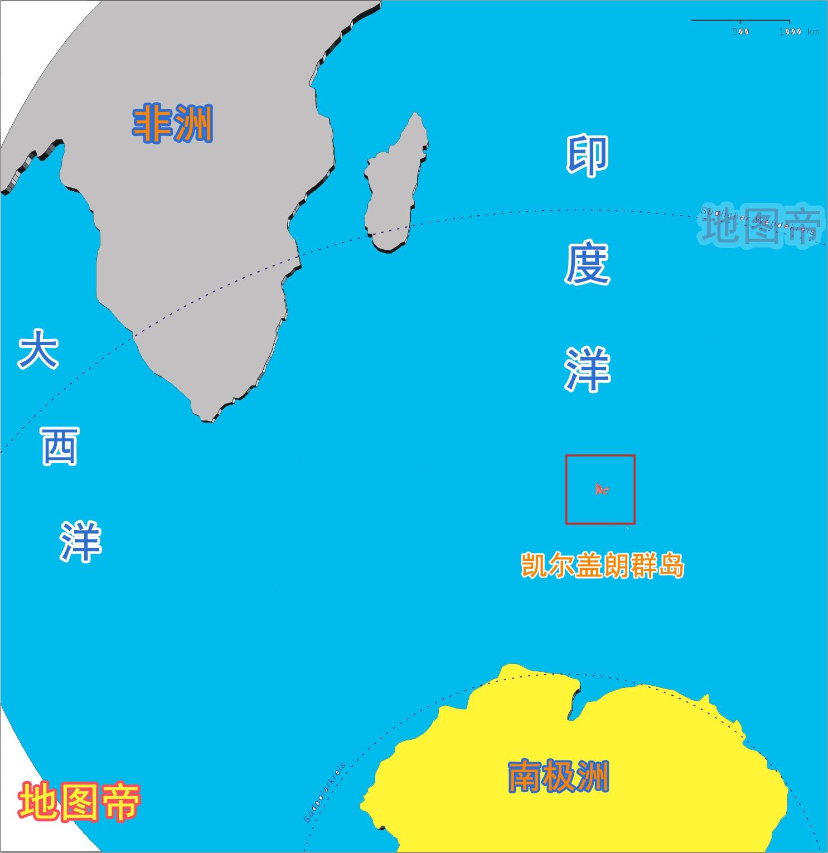 17第十名 凯尔盖朗岛位置 - 最受需求的呼号实体