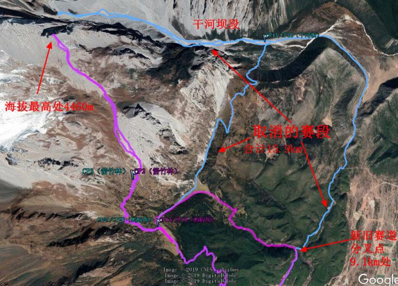 4取消掉的干河坝 820x591 - 20190507玉龙雪山赛道分析